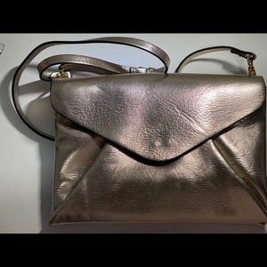 Golden Zara Envelop Bag
